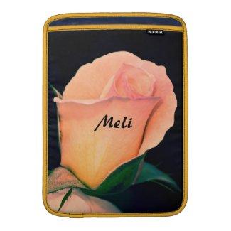 Orange Rose in Lomo Sleeve For MacBook Air