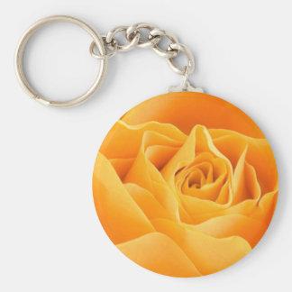 Orange Rose Key Chains