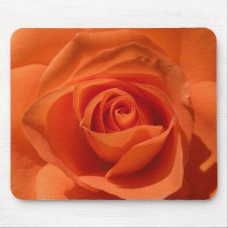 Orange Rose Mouse  pad Mouse Pad