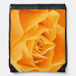 Orange Rose Cinch Bag