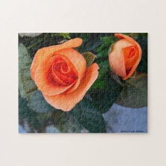 Orange Rose Puzzle puzzle