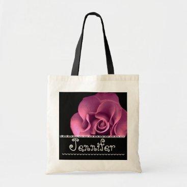 Beach Themed Orange Rose Wedding Favor Bridesmaid Bag