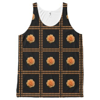 Orange Roses All-Over Print Tank Top