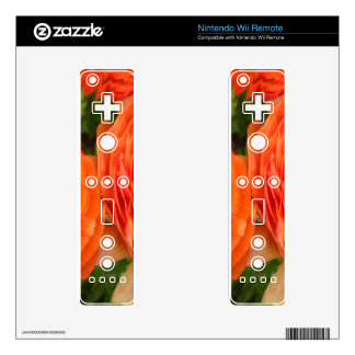 Orange Roses Decals For The Wii Remote