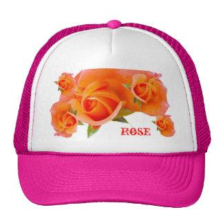 Orange Roses Hat