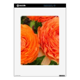 Orange Roses iPad Decals