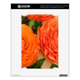 Orange Roses NOOK Skins