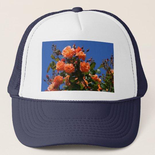 Orange Roses Trucker Hat