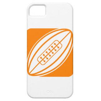 Orange Rugby iPhone 5 Cases