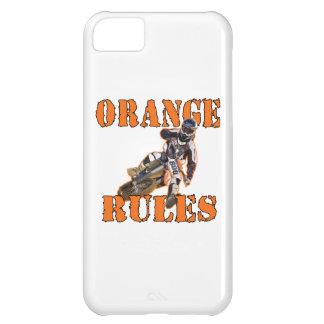 Orange Rules iPhone 5C Cover