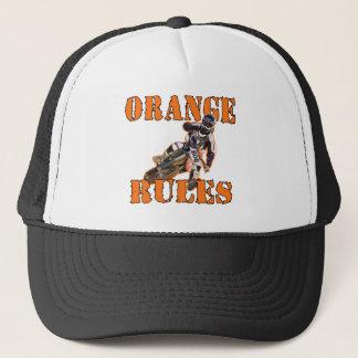 Orange Rules Trucker Hat