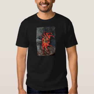 Orange sally lightfoot crab Galapagos Islands T-shirt
