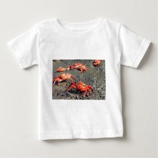 Orange sally lightfoot crabs t-shirt
