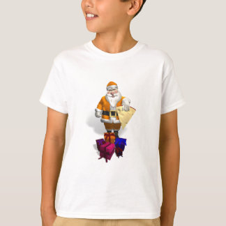 Orange Santa Claus T-Shirt