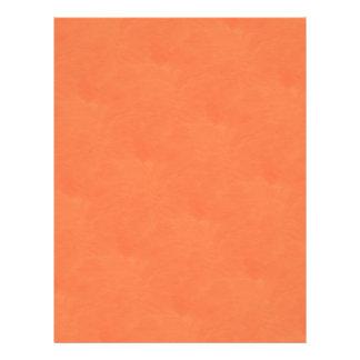 orange scrapbook letterhead