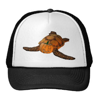 Orange Seaturtle Trucker Hats