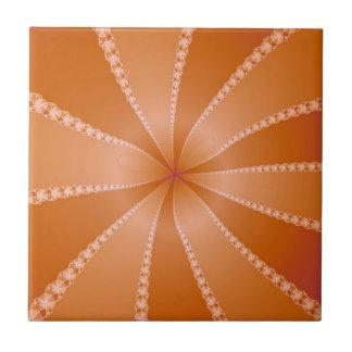Orange Segments tile