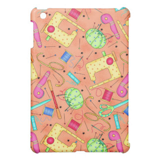 Orange Sewing Notions iPad Mini Case