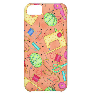 Orange Sewing Notions iPhone Case iPhone 5C Cover