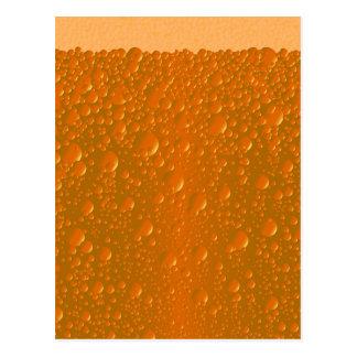 Orange Shade Bibble Background Postcard
