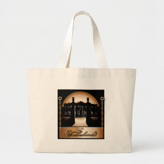 Orange Shadowlands Logo Large Tote Bag