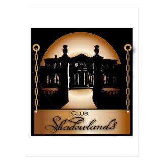 Orange Shadowlands Logo Postcard