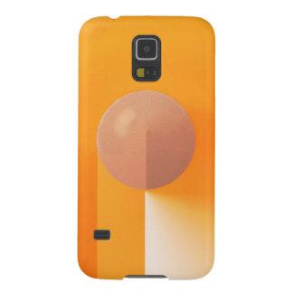 Orange Shadows Abstract Galaxy S5 Case