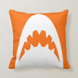 ORANGE SHARK PILLOW SERIES. OTHER COLORS AVAILABLE