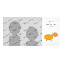 Orange Sheep Card