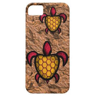 Orange Shell Turtle iPhone Case