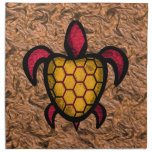 Orange Shell Turtle Napkins