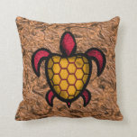 Orange Shell Turtle Pillows