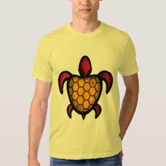 Orange Shell Turtle T-Shirts