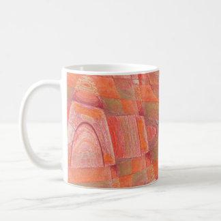 orange sherbert 1 classic white coffee mug