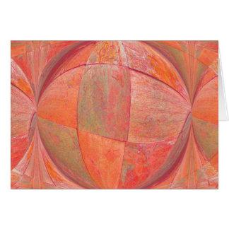 orange sherbert 2 card