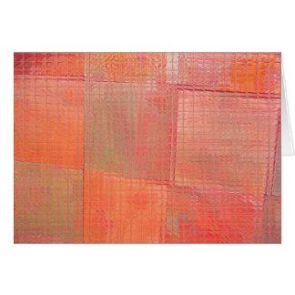 orange sherbert 3 card
