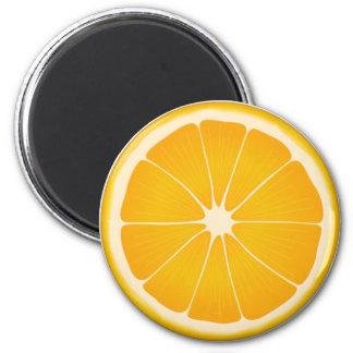 Orange Sherbet Fridge Magnets