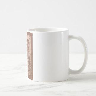 orange sign of the snake coffee mug