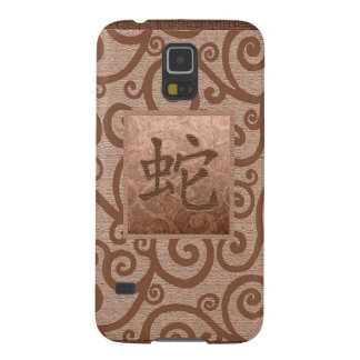 orange sign of the snake galaxy s5 cases