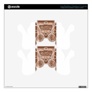 orange sign of the snake PS3 controller decal