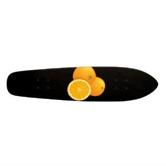 Orange Skateboard Oldschool
