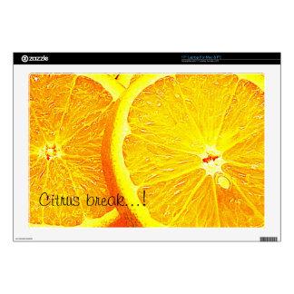 Orange Skin For Laptop