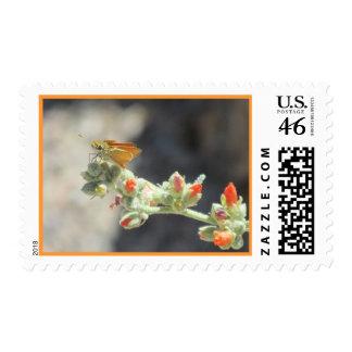 Orange Skipperling Butterfly Stamps