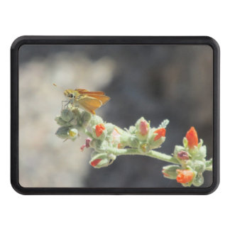 Orange Skipperling Butterfly Tow Hitch Cover