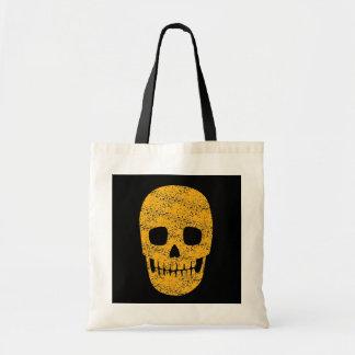Orange Skull - Goth Halloween Bags