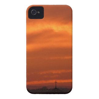 Orange sky over Venice (Venezia), Italy iPhone 4 Cover