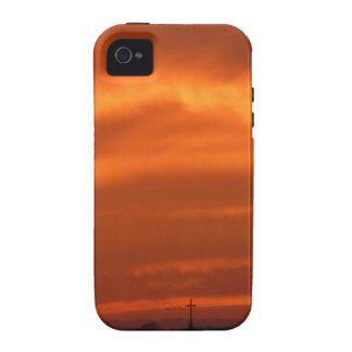 Orange sky over Venice (Venezia), Italy Vibe iPhone 4 Case