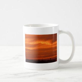 Orange sky over Venice (Venezia), Italy Coffee Mug