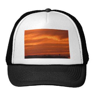 Orange sky over Venice (Venezia), Italy Trucker Hat