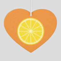 Orange Slice Air Freshener